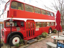 Double Decker Coffee Bus